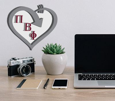 Pi Beta Phi Heart Stix