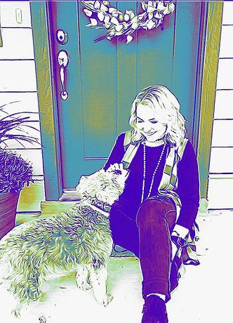 Pet Stix Hannah ad Louie