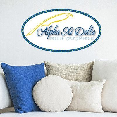 Alpha XI Delta Oval Quill Stix