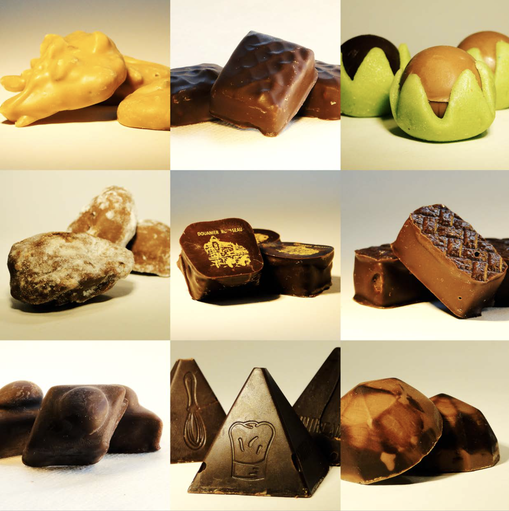 Chocolats faits maison