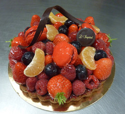 tarte fruits rouges