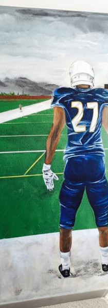 #27 on Football Field
