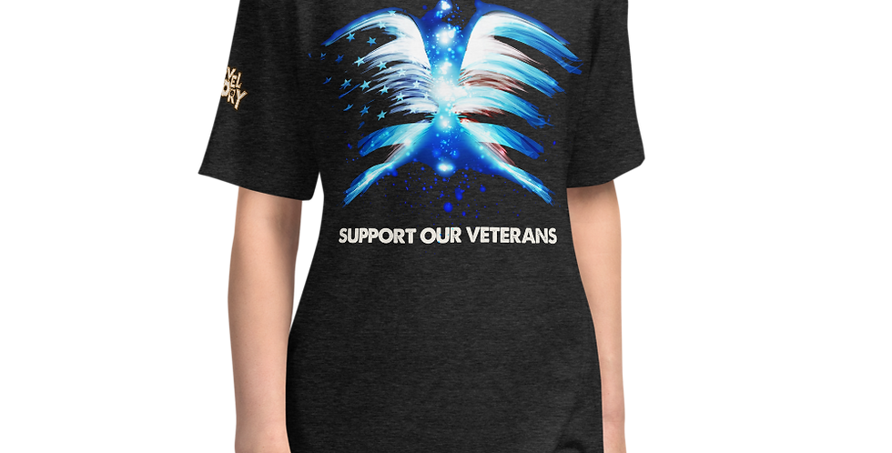 SUPPORT OUR TROOPS!!! Unisex Tri-Blend Track Exclusive Shirt