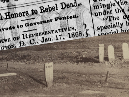 National honors to Rebel dead? - A blistering letter about Confederate graves at Antietam