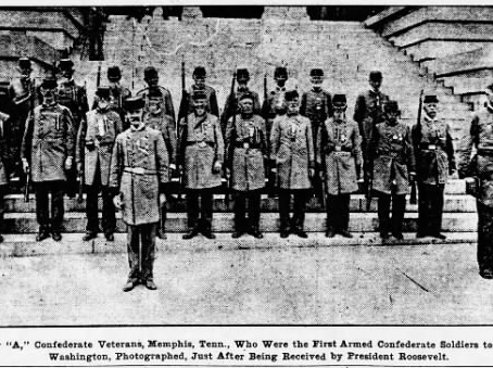 Armed Confederates in the Capital – Tennessee Veterans Visit Washington, D.C.