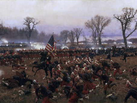 """First fight"" - George Snowden sees the elephant at the Battle of Fredericksburg"