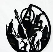 Avengers wall clock