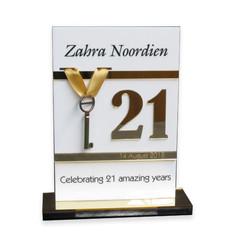Zabra golden 21st key