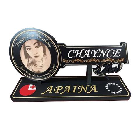 rounded key