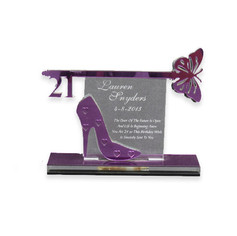 shoe and butterfly key