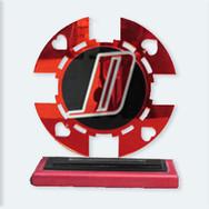 D poker chip award