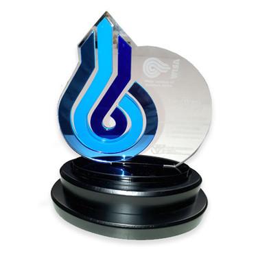 Blue arrow award
