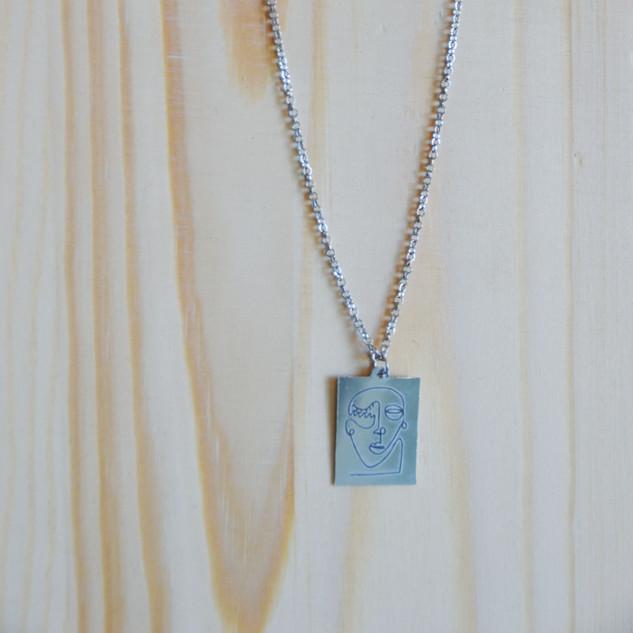 Contempo Silver Annacoil Necklace