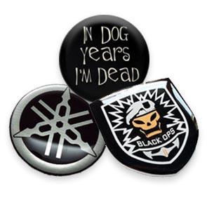 custom round badges