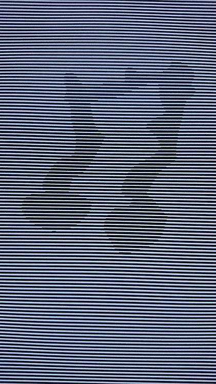 Musiknote 2mm schwarzweiss