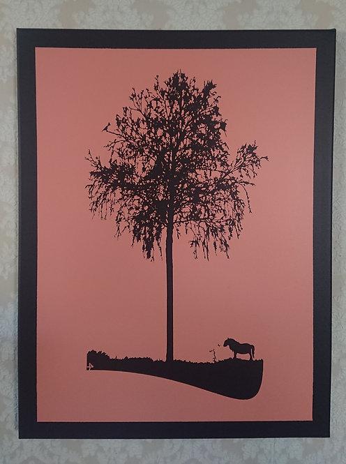 Der fieärrrte Baum mit Minipony
