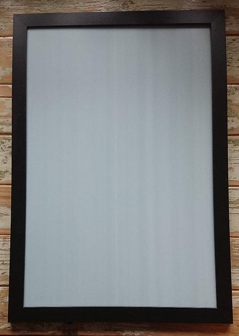 Rahmen 60 x 40 cm, schwarz