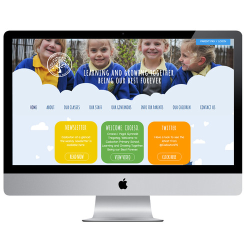A new look website for this Primary School in South Wales.  They wanted a fun site that portrayed the creative and imaginative nature of the staff and children.  A platform for teachers to update class information and let people know the latest news and events at the school on a week to week  basis was required. The goal to create a site that was a parent friendly experience on every visit has been well received.