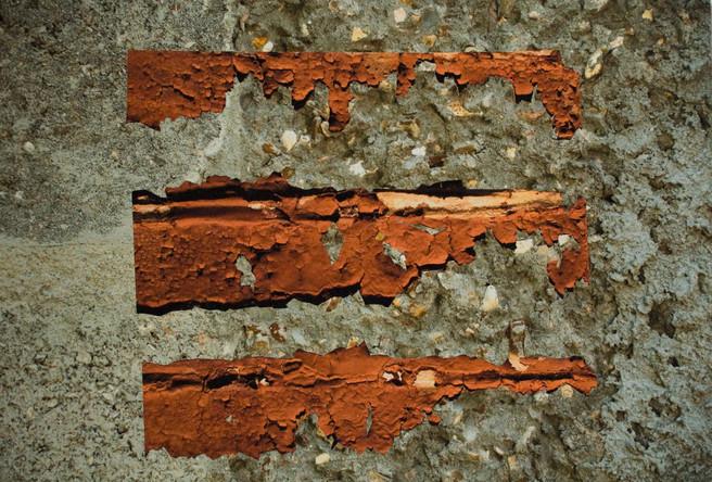 Murmure, collage à partir de photographies impressions jet d'encre, contrecollage sur aluminium, 50x75cm, 2014.