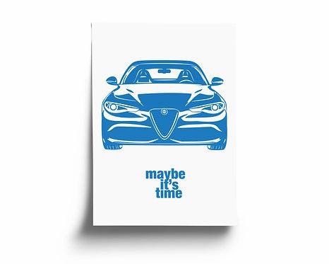 """maybe it's time"" Alfa Romeo Giulia Quadrifoglio"