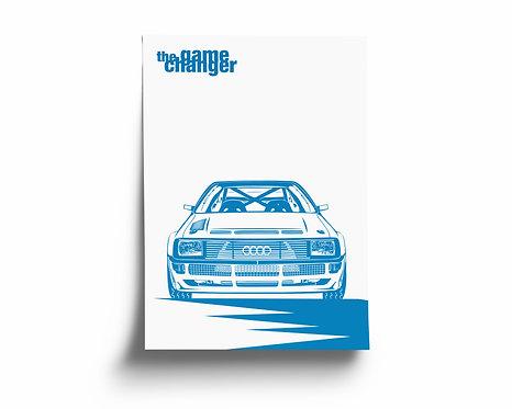 """the game changer"" Audi Sport Quattro"
