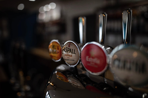 Ales and Ciders on Tap