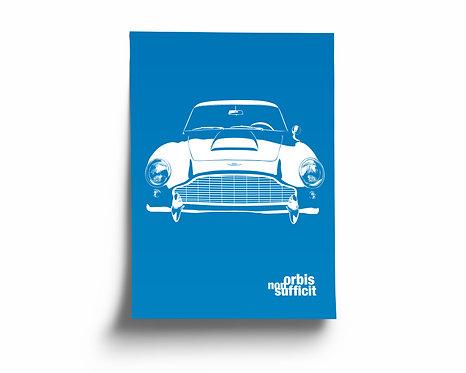 """""""orbis non sufficit"""" Aston Martin DB5"""