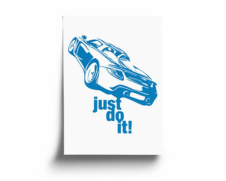 """""""just do it!"""" Porsche Carrera GT"""