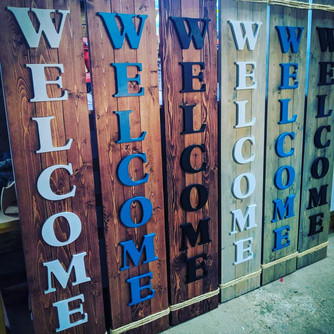 Standing Welcome