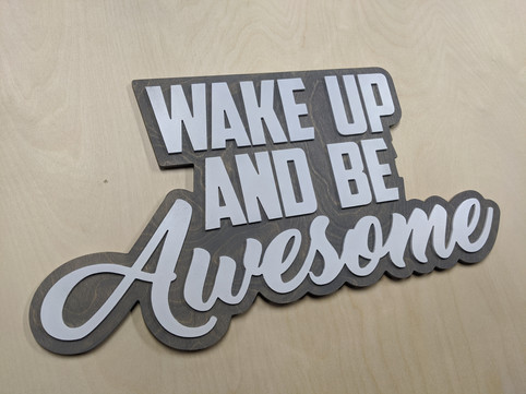Be Awesome 2 layer