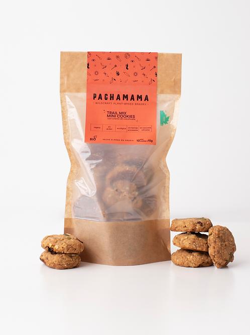 Mini galletas veganas de crema de cacahuete con mix de semillas
