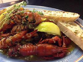 Crawfish  Butter & Garlic