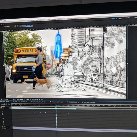 EC Productions Editing Suite