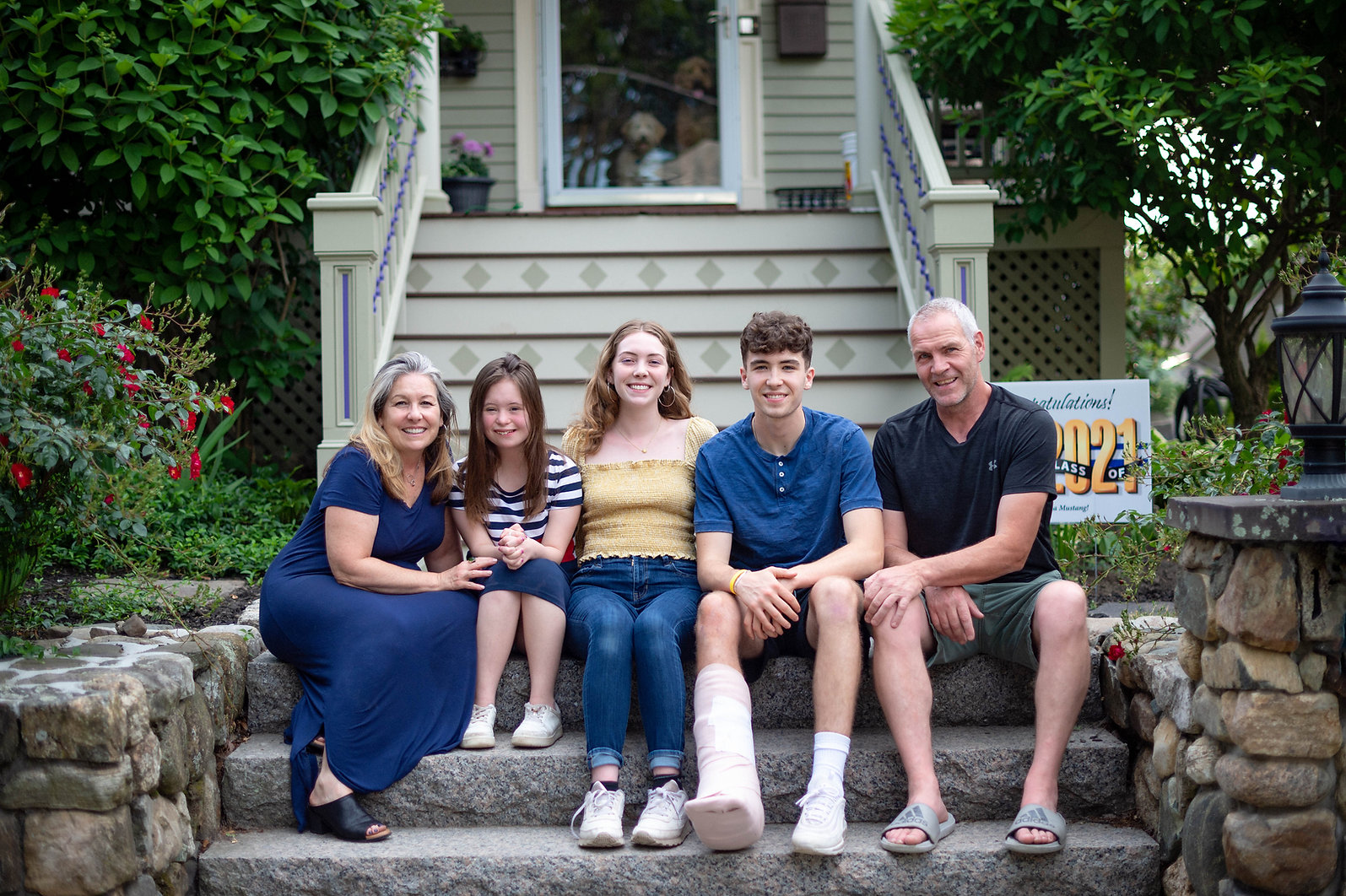 McLaughlin Family front porch w dogs 2021 Bolitho.jpeg