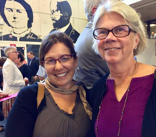 Melanie and Representative Alice Peisch