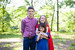 Aiden, Ryleigh and Grace