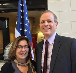 Meeting with Secretary Peyser