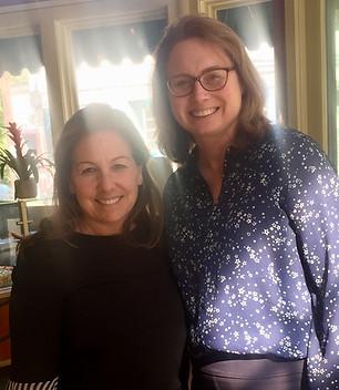 Melanie meets with Medford State Representative Christine Barber