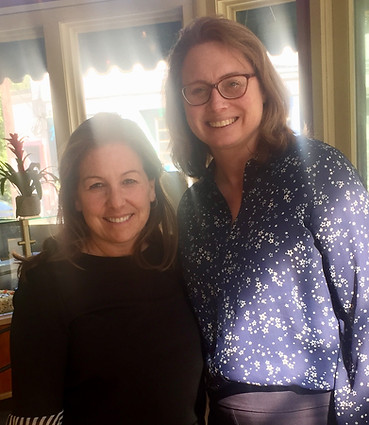 Melanie meets with Medford State Representative Christine Barber