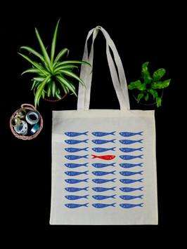 """Tote Bag """"Sardines"""""""