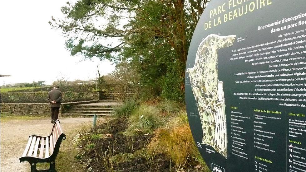 Atelier tcpc Parcs et jardins de Nantes Graphisme pédagogique Signalétique Illustration Aquarelle plan dessins croquis paysage