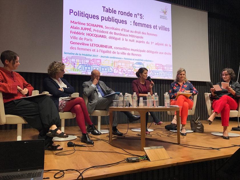 Atelier tcpc Femmes et mobilité urbaine Politiques publiques territoriales Genre ville Observatoires graphisme