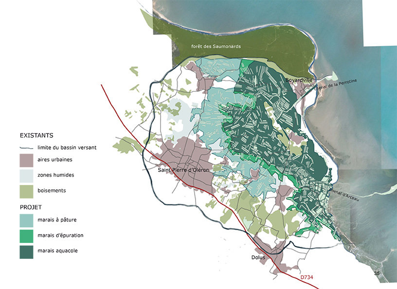 architecte paysagiste cartographie oléron bordeaux
