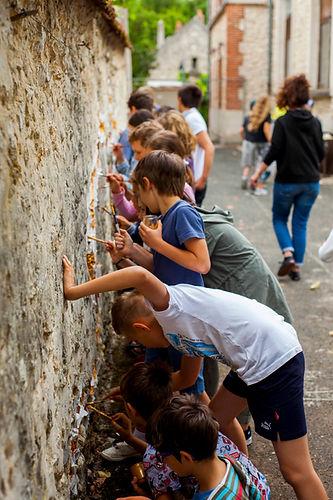 Atelier tcpc Les ébréché.e.s résidence artiste culture territoire paysage patrimoines fissures Art environnemental participatif Chantiers art Habitants