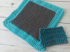 Dishcloth and Scrubby