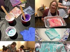 Fluid Art Paint Party