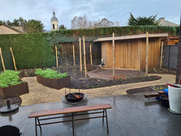 Cortenstaal in de tuin