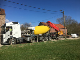 Ready to concrete!