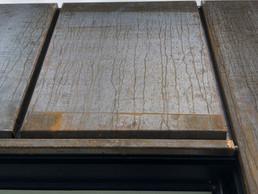 Detail voven raam