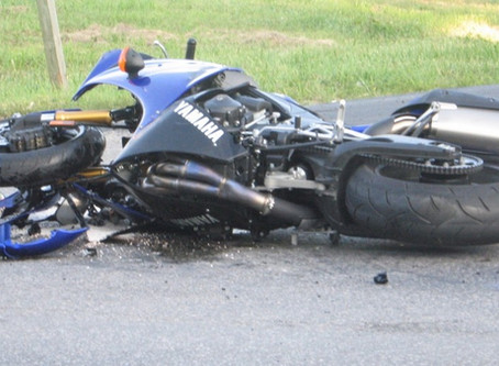 Motorcyclist settles for $9.5 Million after hit by driver making illegal left turn